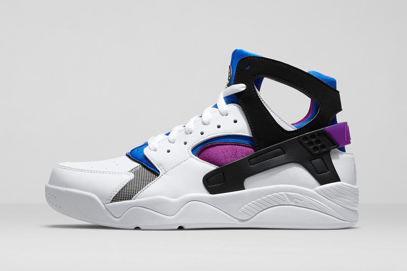 """cheap for discount 7c5c1 3f2fa Nike Air Flight Huarache OG. After turning up a few years back with a Free  sole unit, Nike's """"Fab Five""""-popularized Air Flight"""