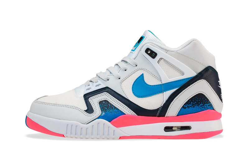 367cf4386926 Nike Air Tech Challenge II White Photo Blue-Pure Platinum-Medium ...
