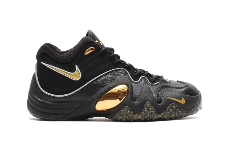 ec4057fa9147d Nike Zoom Uptempo V Premium Black Metallic Gold-White