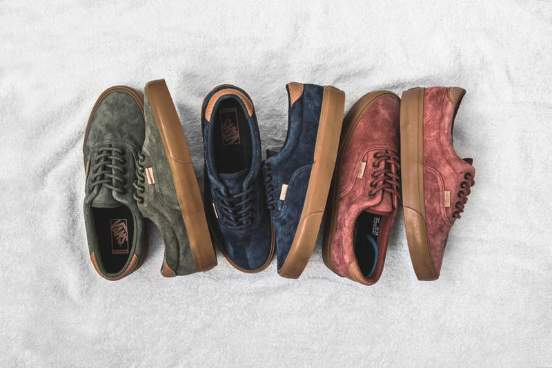 c839456377 Vans California has got a new trio of Era 59 CA that mix pigskin suede and  snakeskin to great