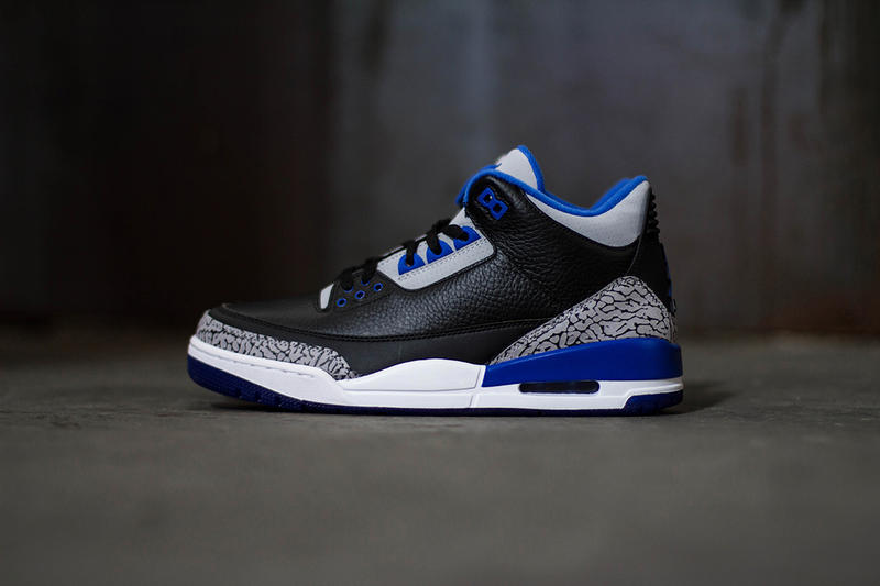 """d7344bd88b2 Today we've got a more thorough look at the Air Jordan 3 Retro """"Sport Blue""""  ahead of its upcoming"""