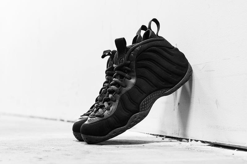 """separation shoes 38325 21772 Here is a detailed look at the iconic Nike Air Foamposite One in the """"Triple  Black"""" colorway due to"""