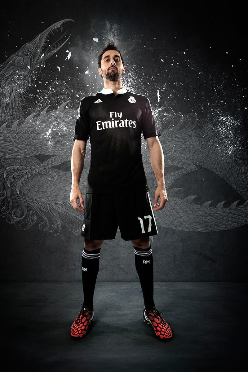 3c99a803b adidas Unveils Real Madrid s 2014 15 Third Kit by Yohji Yamamoto ...