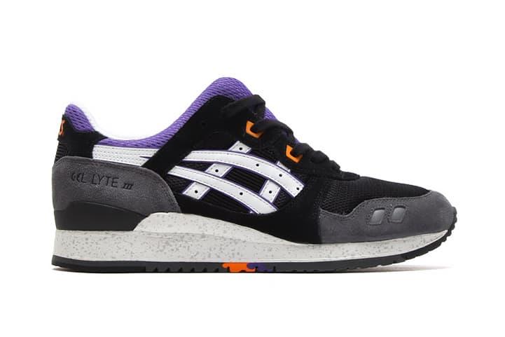 popular stores crazy price better ASICS Gel Lyte III Black/Purple/Orange | HYPEBEAST