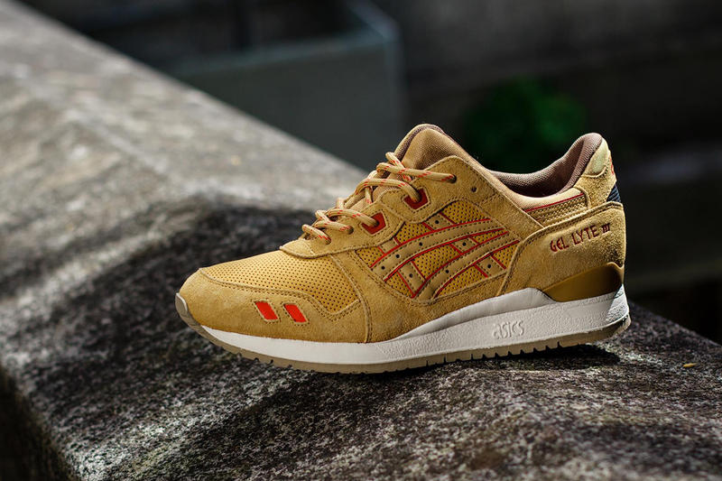 34380773056f One of ASICS  most popular retro runners gets a condiment-inspired makeover  for Fall 2014 with the