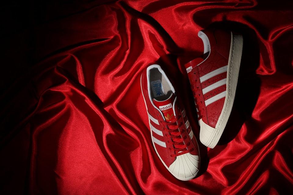 b4fd10e5c29b2d atmos x adidas Originals Superstar 80s G-SNK 8 Red 3M