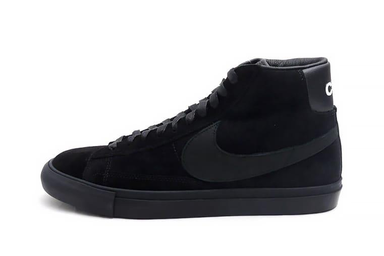 BLACK COMME des GARÇONS x Nike Blazer