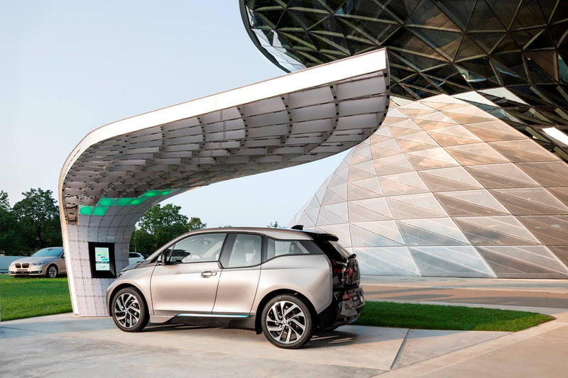 Bmw Welt Point One Solar Charging Station By Eight