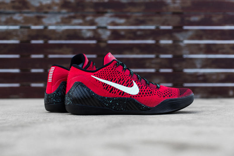 big sale 34631 6e0f7 Coming to retailers soon is the Nike Kobe 9 Elite Low in a new university  red and black colorway.