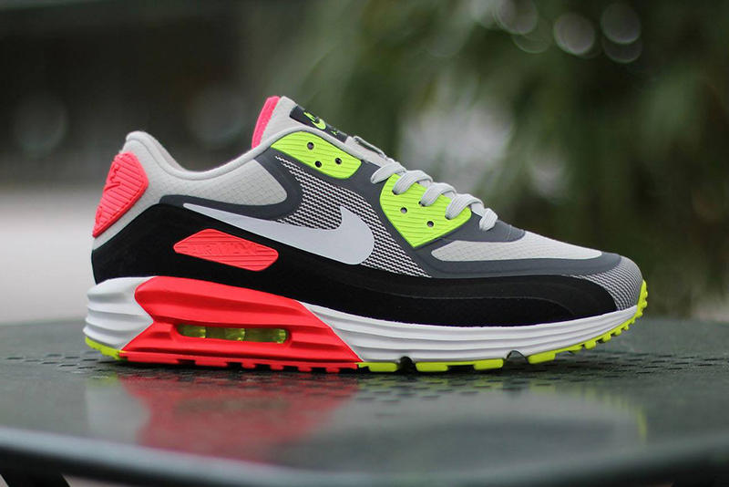 sale retailer 76a61 333b7 For the summer season, Nike reworks its Air Max Lunar90 WR with a bright  injection of color. The