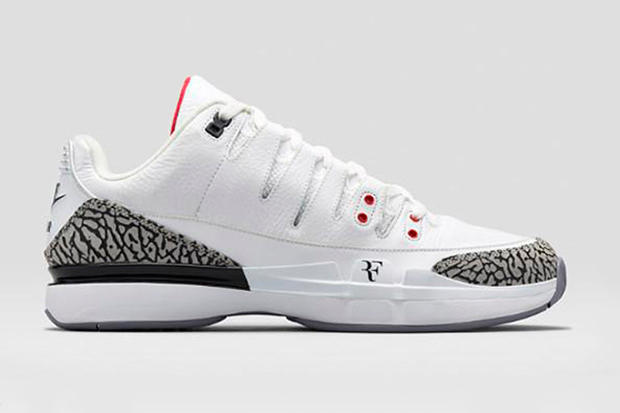 84757c04deb Nike has dipped into the Jordan Brand archives for this latest version of  Roger Federer's signature