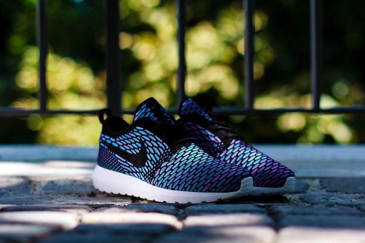 official photos 27004 839de Nike Flyknit Roshe Run