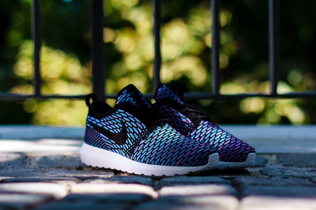 "Nike Flyknit Roshe Run ""Neo Turquoise"""
