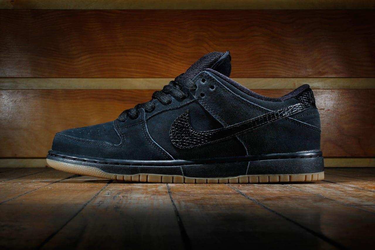 Nike SB Dunk Low Pro Black/Gum Medium