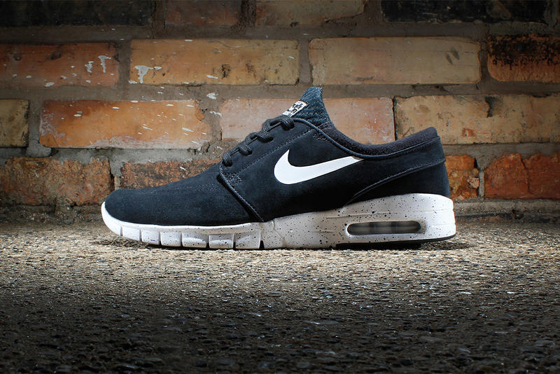 classic style save up to 80% size 7 Nike SB Stefan Janoski Max Suede Black/White | HYPEBEAST