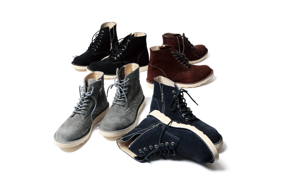9a983ae36fd SOPHNET. 2014 Fall 7 Hole Zip Up Boots Collection   HYPEBEAST