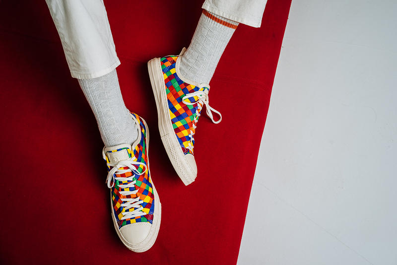 huge selection of 8b6fe 6e3ae ... Color Weave Collection. In a very bright and colorful reimagining of  the classic Chuck Taylor All Star silhouette, Converse