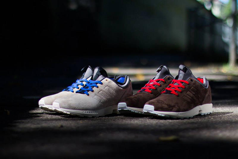 140bc800e adidas Originals unveils two new models of the ZX Flux NPS in a suede  rendition for the fall