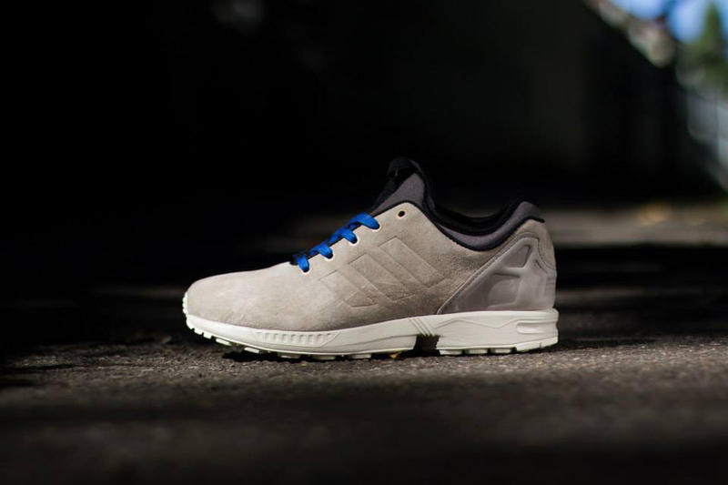 9c93fd66d adidas Originals unveils two new models of the ZX Flux NPS in a suede  rendition for the fall. 1 of 5. 2 of 5. 3 of 5. 4 of 5