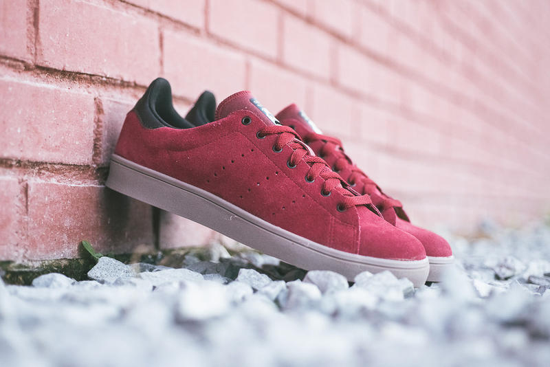 best service cb132 510df adidas Stan Smith Vulc Burgundy