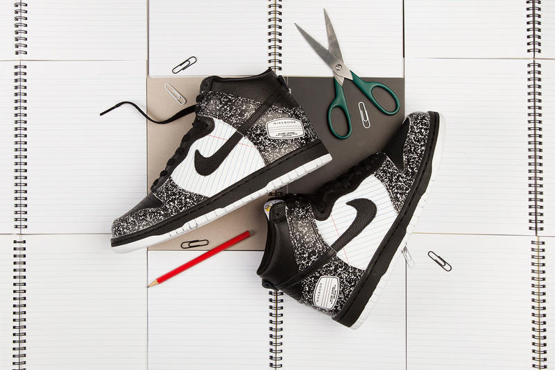"""quality design 8452d d7eef A Closer Look at the Nike Dunk High Premium QS """"Back to School"""""""