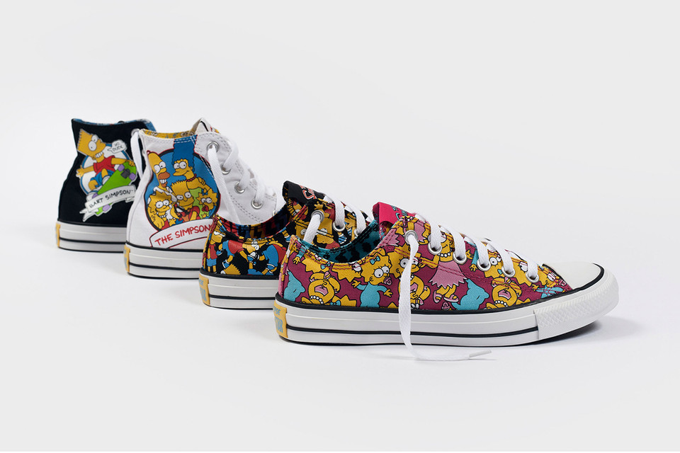 2cb6bea0d8fb The Simpsons x Converse 2014 Fall Collection