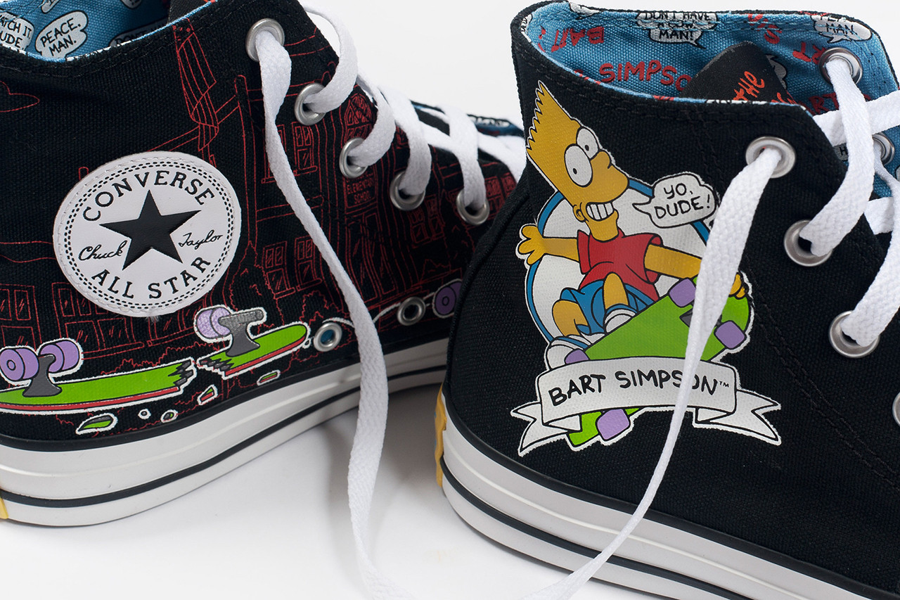 The Simpsons x Converse 2014 Fall