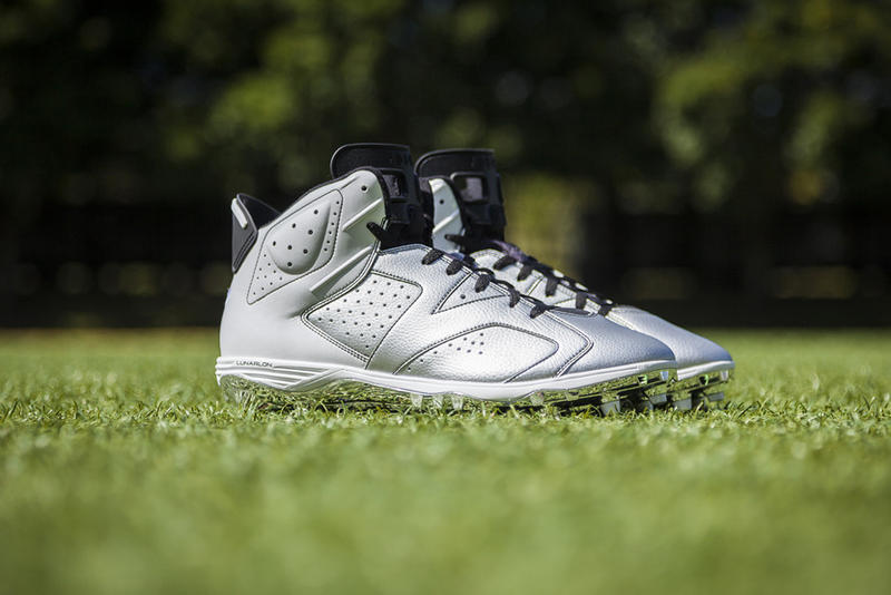 Jordan Brand Football Athletes To Wear Air Jordan Vi Cleats