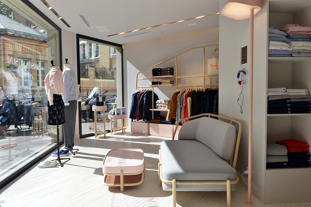 Maison Kitsuné Open Up Its Second Shop in Paris on Rue Madame