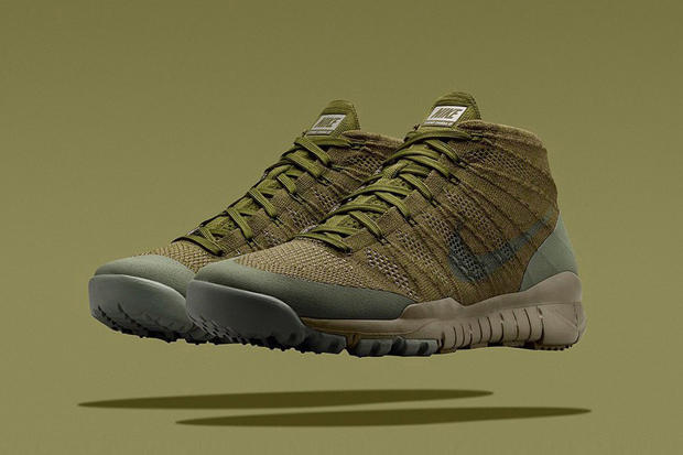more photos dcafc ab884 First presented on the medal stand in Sochi, Nike has now brought back the Flyknit  Trainer Chukka