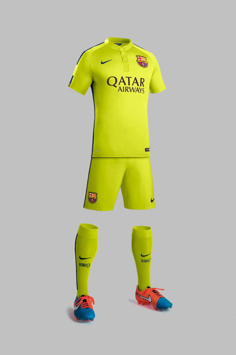 Nike Introduces New Third Kits For Manchester City Psg And Barcelona Hypebeast