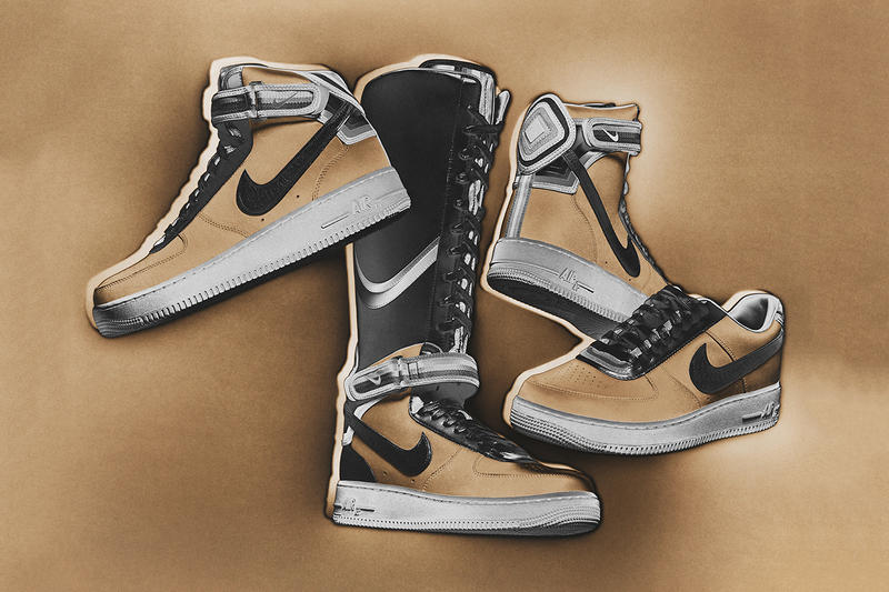 """best loved 409a7 4406a After two successful drops, the Nike and Riccardo Tisci """"Nike + R.T. Air  Force 1"""" collection enters"""