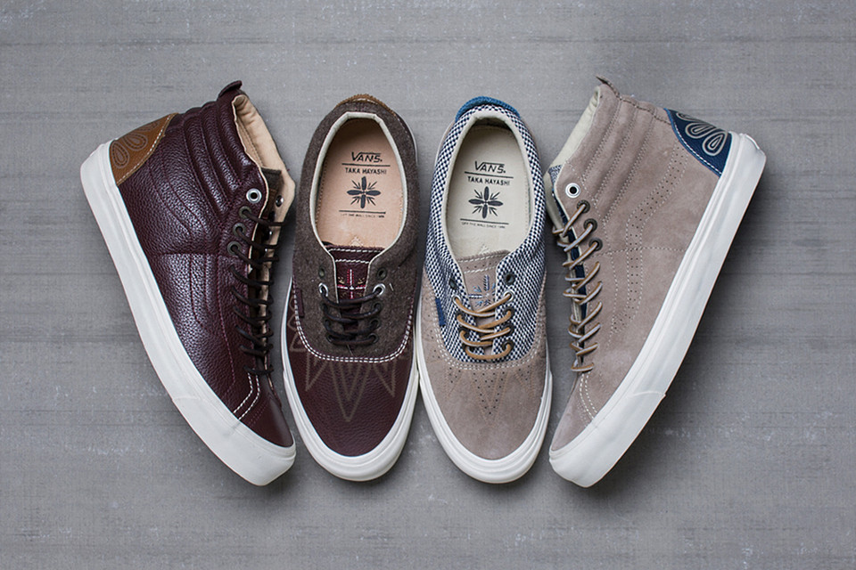 b19e4fcc3 The Vans Vault TH Huarache Vault Collection Features Signature Elements of  Taka Hayashi