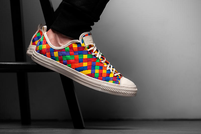 finest selection 56a2a a17c6 ... Color Weave Collection. One of the noteworthy designs from Converse s  Holiday 2014 Chuck Taylor All Star range sees the. 1 of 5. 2 of 5
