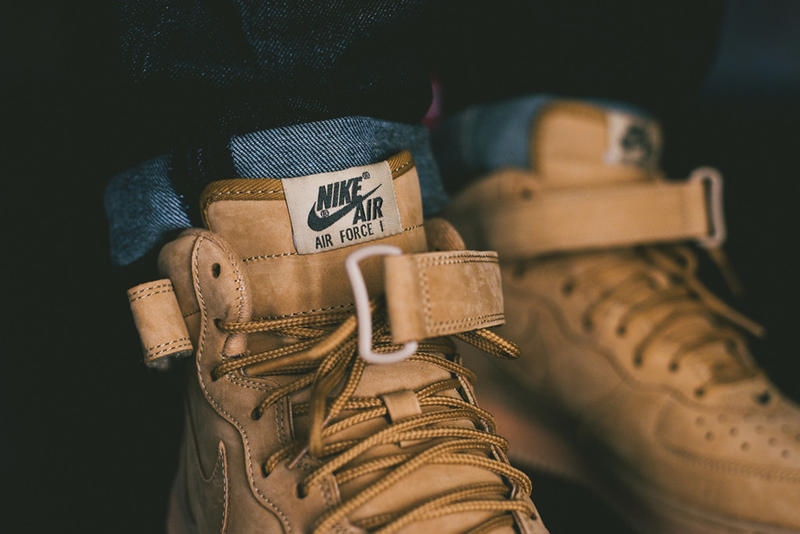 save off 00e35 82a3f A Closer Look at the Nike Air Force 1 Mid