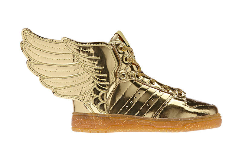 new concept 64f8a ced15 adidas Originals by Jeremy Scott JS WINGS 2.0 Gold