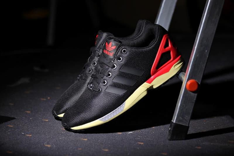 dac088cfe adidas Originals ZX Flux Core Black Red