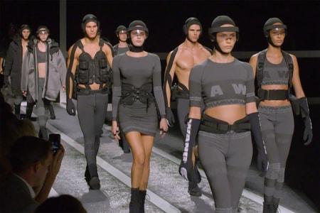 Alexander Wang x H&M Debuts on the Runway in New York