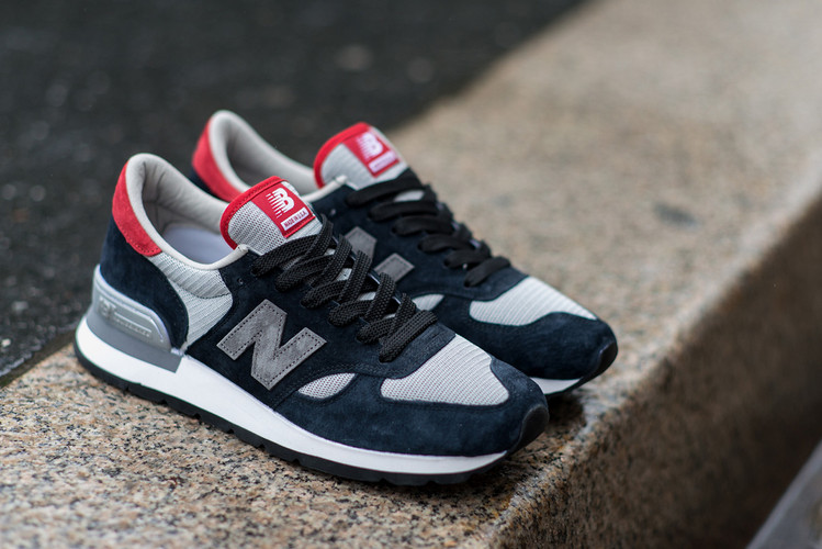 dc556f2e631 HYPEBEAST Customizes the New Balance 990 with