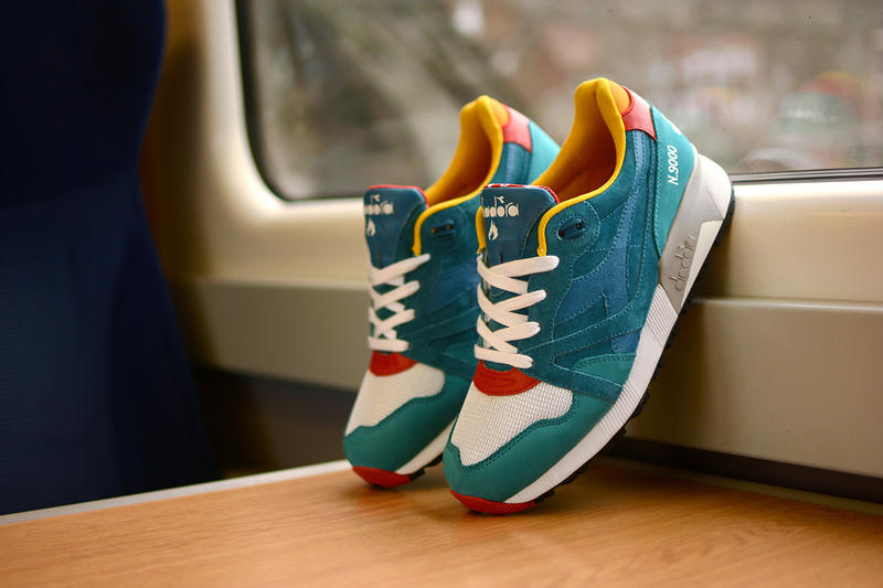 online store 14e4e a809a Once again, Scotland s very own hanon Shop has teamed up with Italian  sportswear label Diadora. The