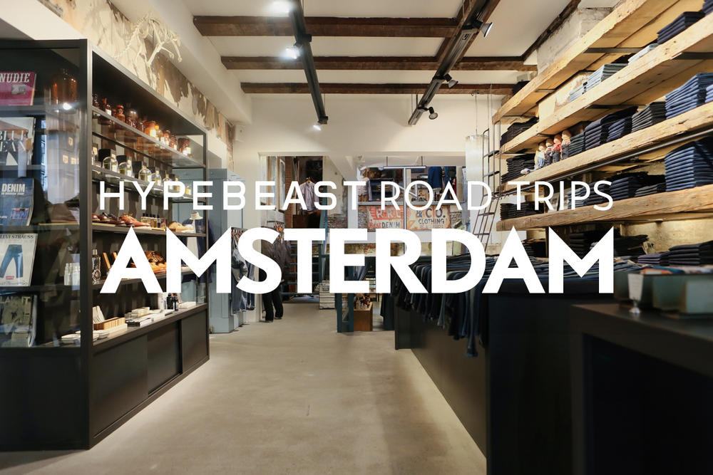 HYPEBEAST Road Trips Amsterdam: The Finer Things in Life Beyond Denim at Tenue de Nîmes