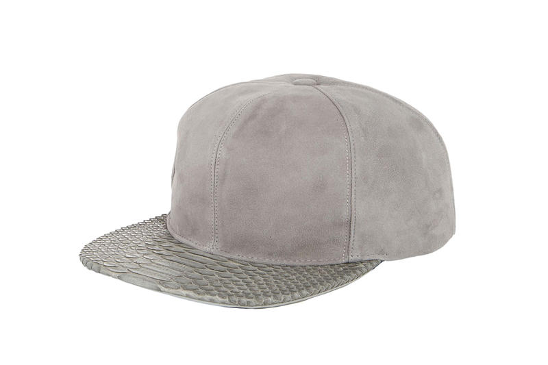 3f06bdf5d23 Just Don 2014 Fall Winter Leather   Python Snapback Collection ...