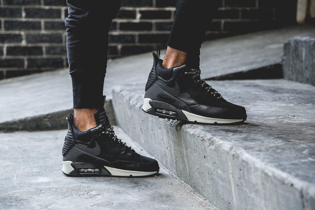 Nike 2014 Air Max 90 Sneakerboot Black