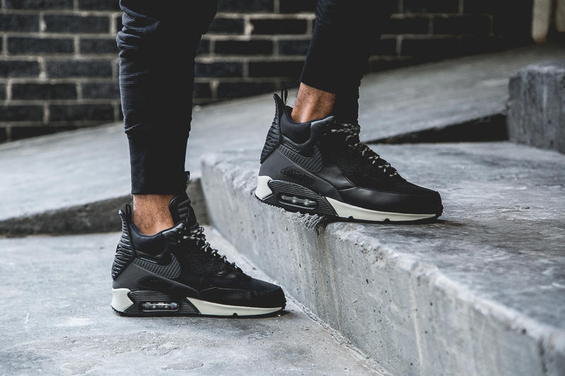 new style 44bdb ec6c3 Nike has released its chunky Air Max 90 Winterized Sneakerboot, which  features a thorough
