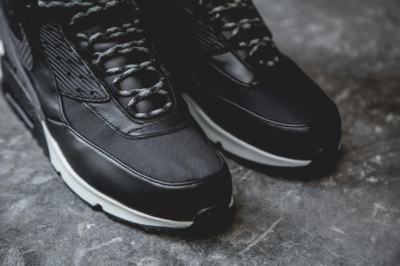 designer fashion b8886 8accb Nike 2014 Air Max 90 Sneakerboot Black/Grey-White. Nike has released its  chunky Air Max 90 Winterized Sneakerboot, which features a thorough. 1 of  3. 2 of 3