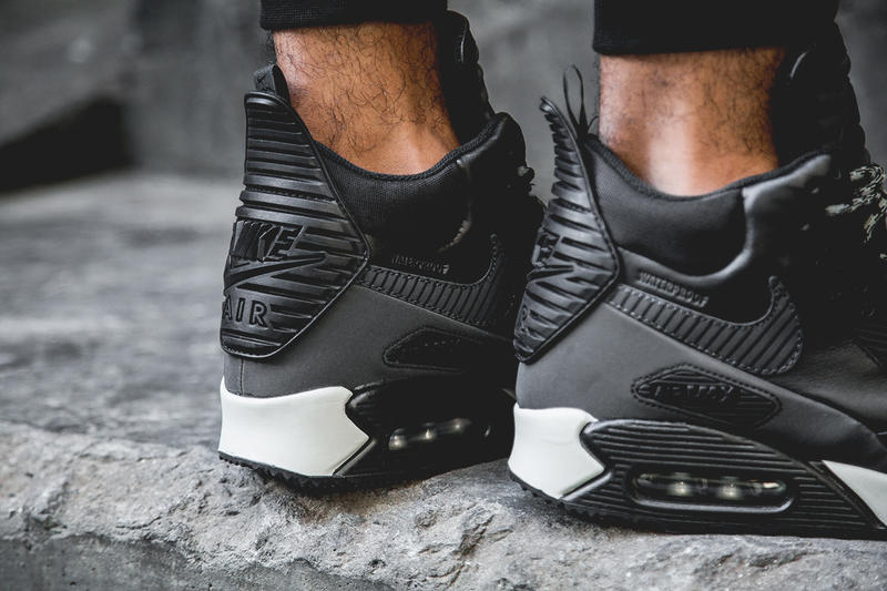 new styles c65c7 7bb4c Nike 2014 Air Max 90 Sneakerboot Black/Grey-White. Nike has released its  chunky Air Max 90 ...