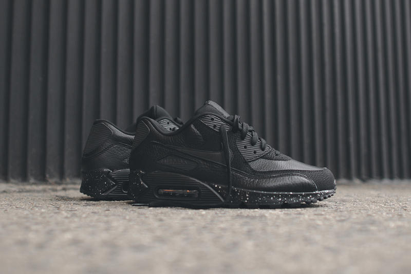 Nike Air Max 90 Premium Black/Metallic Silver