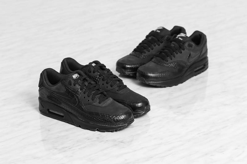 ca831f5232 ... Nike has unveiled the Air Max Patent Croc Pack for women. Consisting of  two female ...