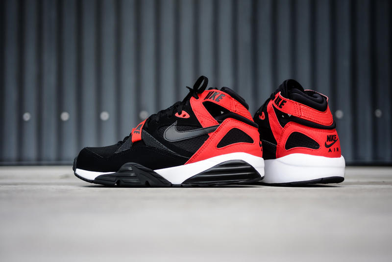 aa716c8f4ea8 Nike Air Trainer Max  91 Black University Red