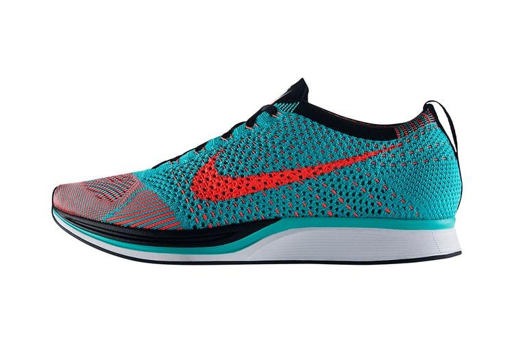 best sneakers 65444 5eca1 Nike Flyknit Racer Hyper Jade Black